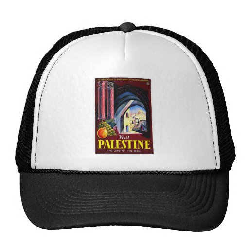 Palestine,  Jerusalem / Vintage Travel Hat