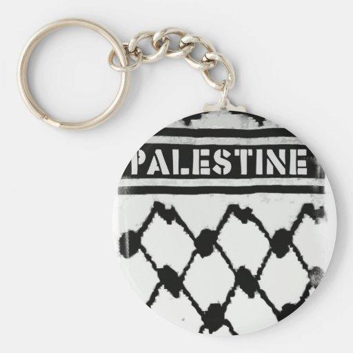 Palestine Keffiyah Key Chains