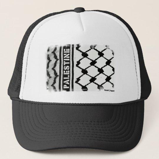 Palestine Keffiyah Trucker Hat