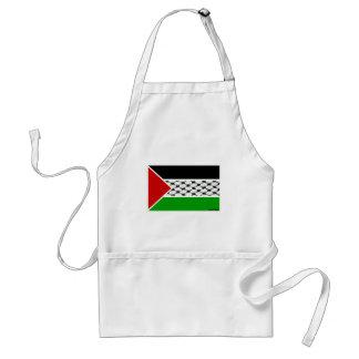 Palestine Keffiyeh Flag Adult Apron