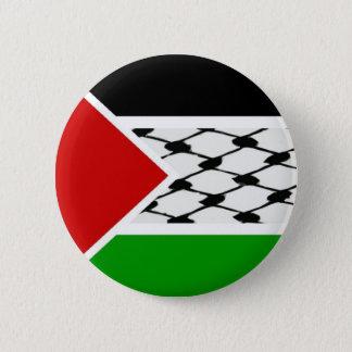 Palestine Keffiyeh Flag Button