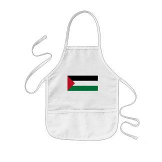 palestine kids' apron