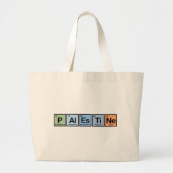 Jumbo Tote Bag with Palestine design