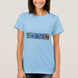 Women's Basic T-Shirt with Palestine design