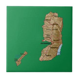 Palestine Map Tile