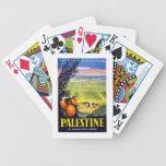 Palestine Mediterranean Vintage Travel Deck Of Cards