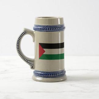 palestine 18 oz beer stein