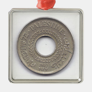 Palestine National Pride Coin Collection Metal Ornament