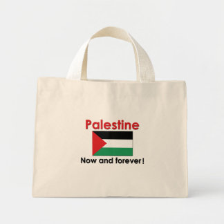 Palestine Now And Forever Mini Tote Bag