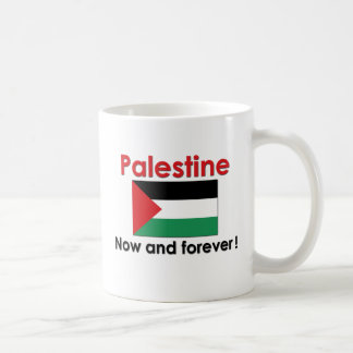 Palestine Now And Forever Classic White Coffee Mug