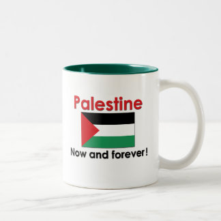 Palestine Now And Forever Two-Tone Coffee Mug