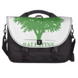 Palestine Olive Tree t shirt Commuter Bag