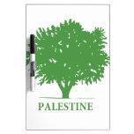 Palestine Olive Tree t shirt Dry Erase Board