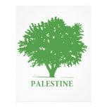 Palestine Olive Tree t shirt Personalized Letterhead