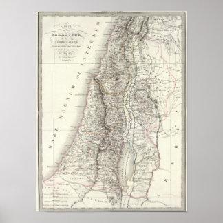 Palestine ou Terre Sainte - The Holy Land Poster