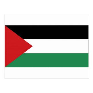 Palestine Palestinian Flag Postcard