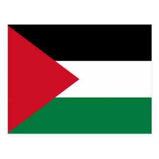 Palestine – Palestinian Flag Postcard