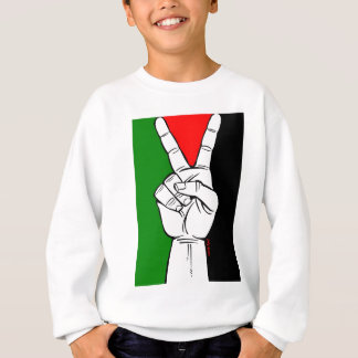 Palestine Peace Flag Sweatshirt