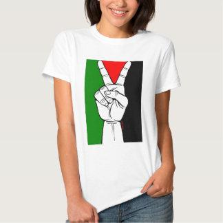 Palestine Peace Flag T Shirt