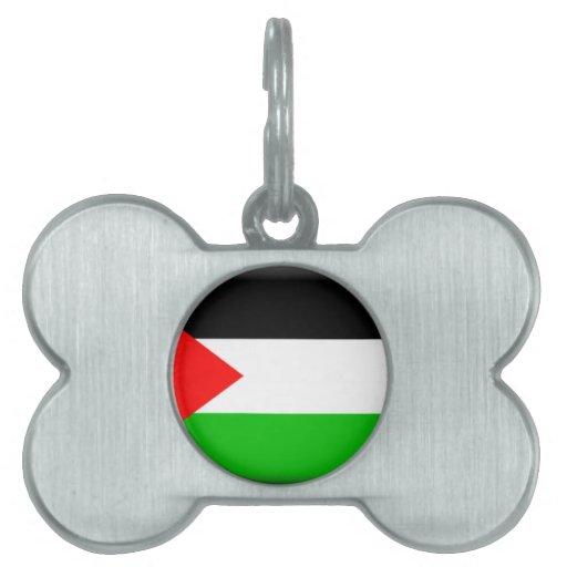 Palestine Pet Tag