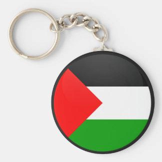 Palestine quality Flag Circle Keychains