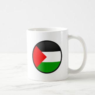 Palestine quality Flag Circle Coffee Mugs
