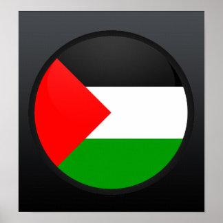 Palestine quality Flag Circle Print