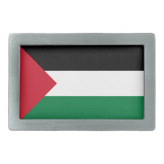 Palestine Rectangular Belt Buckle