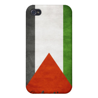Palestine Retro Flag iPhone 4 Case