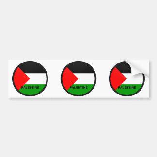 Palestine Roundel quality Flag Bumper Stickers