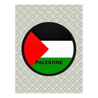 Palestine Roundel quality Flag Post Card