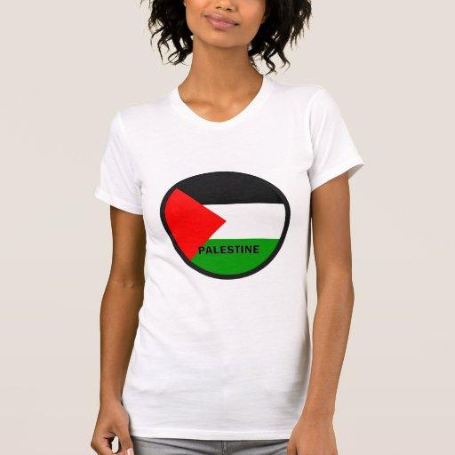 Palestine Roundel quality Flag T-shirts