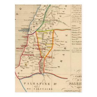 Palestine sous Constantin le Grand, 330 apres JC Postcard