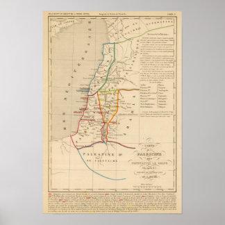 Palestine sous Constantin le Grand, 330 apres JC Poster