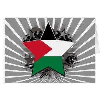 Palestine Star Card