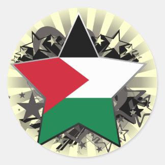 Palestine Star Sticker