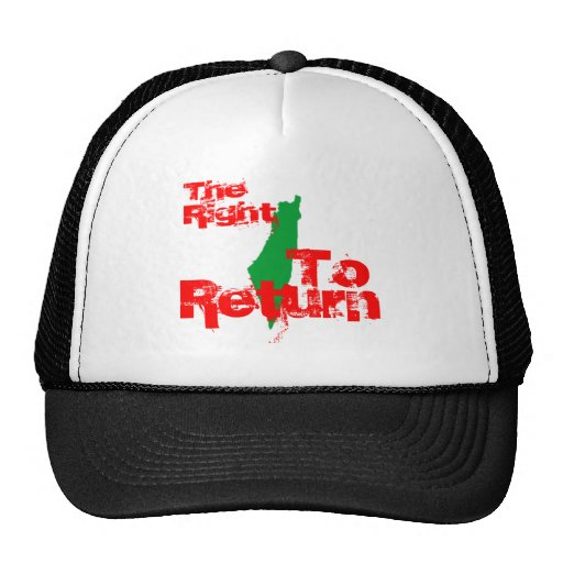 Palestine: The RIght To Return Mesh Hats