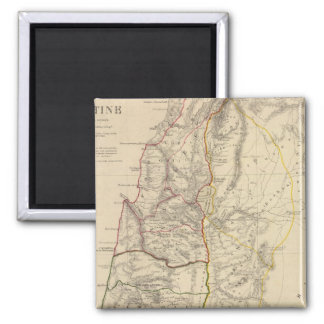 Palestine, time of Our Saviour 2 Inch Square Magnet
