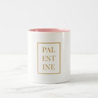 Palestine Two-Tone Coffee Mug