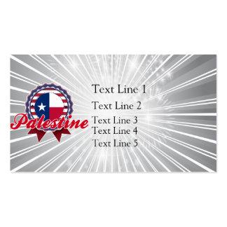 Palestine, TX Business Card Templates