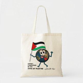 Palestine UN membership دولة فلسطين Canvas Bag