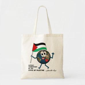 Palestine UN membership دولة فلسطين Tote Bag