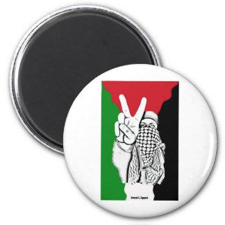 Palestine Victory Flag 2 Inch Round Magnet