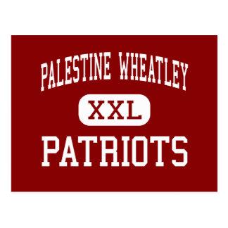 Palestine Wheatley - Patriots - High - Palestine Postcard