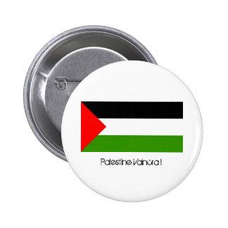 Palestine Will overcome! 2 Inch Round Button