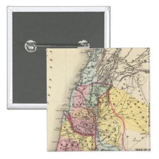 Palestine with Arabia Petraea Button