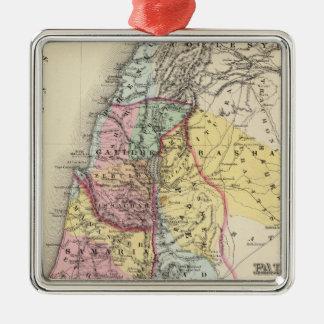 Palestine with Arabia Petraea Christmas Tree Ornament
