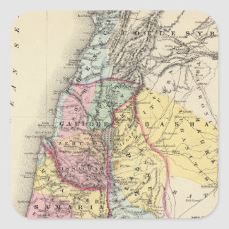 Palestine with Arabia Petraea Square Sticker