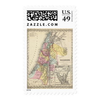 Palestine with Arabia Petraea Stamp