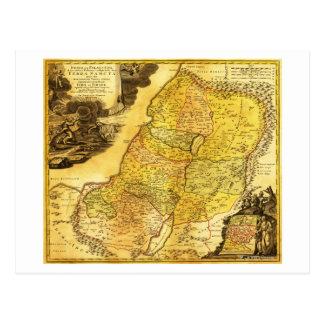 PalestinePanoramic MapPalestine 2 Postcard